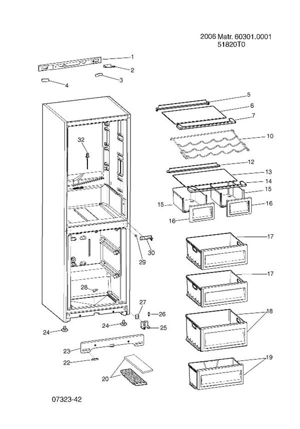 Indesit Refrigerator Wiring Diagram : Hotpoint ffp mp refrigerator transparent drawer front
