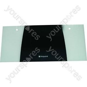 Indesit Top Oven Outer Door Glass