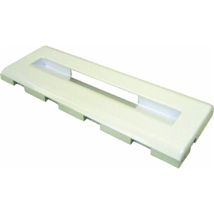 Lower Freezer Flap (446x157x25mm) White