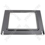Zanussi Inner Grill Door Glass with Hinges