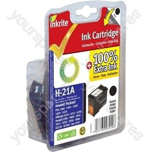 Inkrite NG Ink Cartridges (HP 21) for HP PSC 1400 1410 Deskjet 3900 3940 - C9351A Black