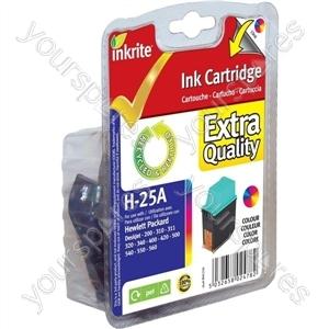 Inkrite NG Ink Cartridges HP DeskJet 200, 310, 400, 500 Colour
