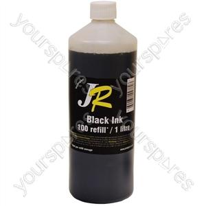 Just Refill 1 Litre Black Universal Refill Ink