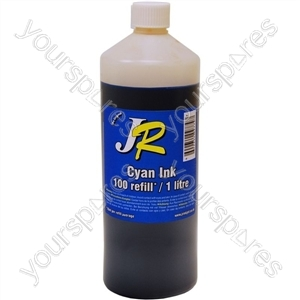 Just Refill 1 Litre Cyan Universal Refill Ink