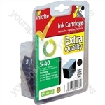 Inkrite NG Ink Cartridges (Samsung M40) for Samsung SF330/335/340/345/360/365 - M40 Black