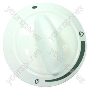 Control Knob Grill White