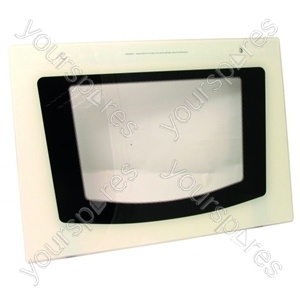 Door Glass Outer Top Oven