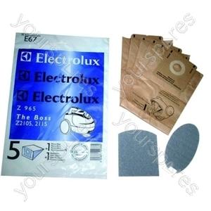 Electrolux Es67n Vacuum Bags