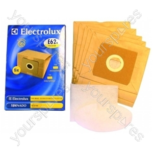 Electrolux E62 Vacuum Bags