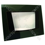 Electrolux Main Oven Outer Door Glass w/ Green Detail