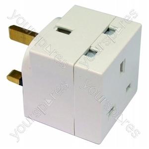 Plug In Adaptor 2 Way