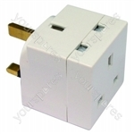 Plug In Adaptor 2 Way