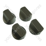 4 x Cooker/Oven Control Knob Hotpoint-Ariston Indesit