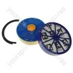 Dyson DC07 Pre Motor Washable & Post Motor Hepa Vacuum Cleaner Filter Kit + Hepa Filter Seal