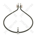 AEG Replacement Fan Oven Cooker Heating Element (1200W) (1 Turn)
