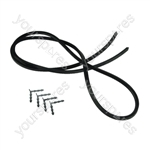 Universal Oven-Cooker-Grill Door seal 4 Sided