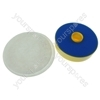 Dyson DC07 Post-Motor Filter Pad & Washable Pre-Motor Vacuum Cleaner Filter Set