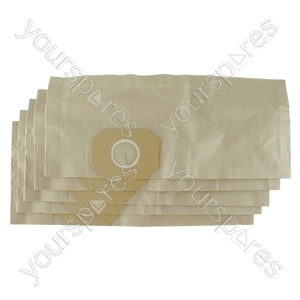 Hoover Jet & Wash Vacuum Cleaner Paper Dust Bags