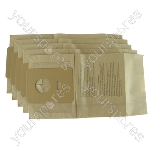 Hoover Sensotronic S3126 Vacuum Cleaner Paper Dust Bags