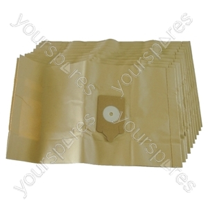 Numatic 450 3B Vacuum Cleaner Paper Dust Bags