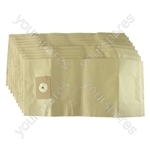 Numatic Nvm 4b Vacuum Cleaner Paper Dust Bags