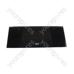 Glass Door Top Black