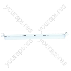 Shelf Trim Rear (477mm) White
