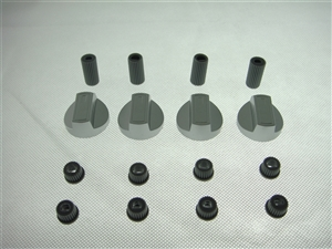 Silver knobs